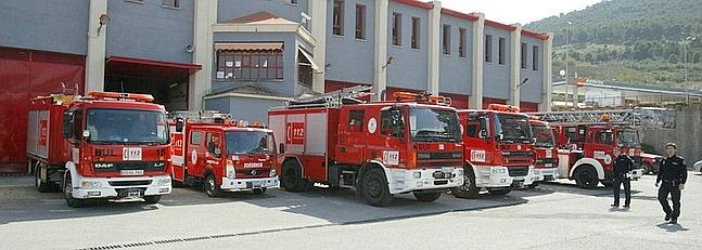 bomberos de jaen