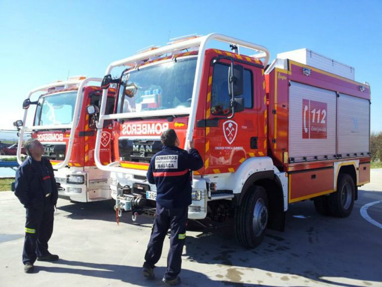 bomberos de malaga